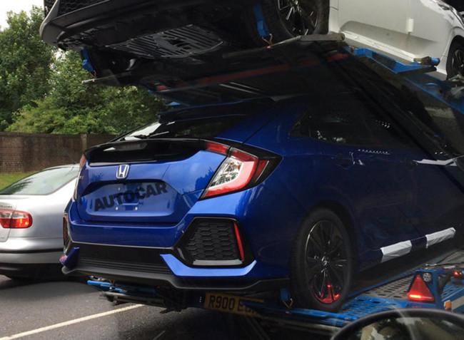 ¡Espiado! Así de Type R se ve el nuevo Honda Civic