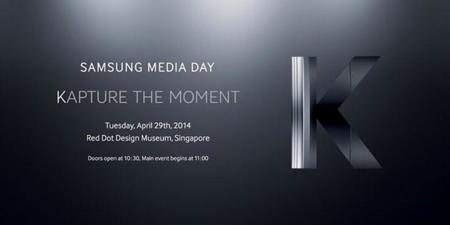 "Samsung anuncia ""Kapture the moment"" para el 29 de abril"