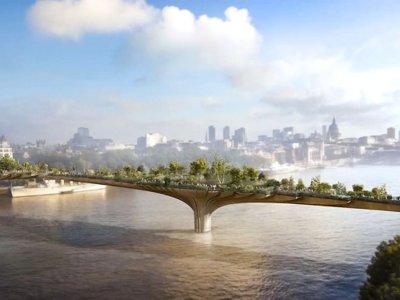 Un jardín crecerá sobre el Támesis: el futuro Garden Bridge