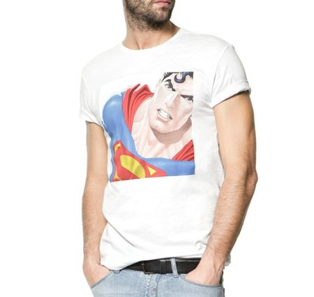 Camiseta Zara Superman