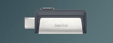 Precio brutal para la memoria flash USB SanDisk Ultra Dual DriveType-C de 64 GB por 8,99 euros en Amazon, su mínimo histórico