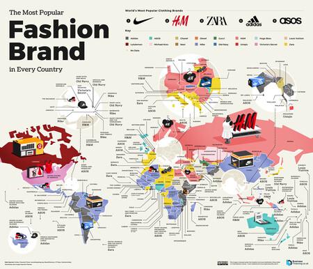 Fashion Mapa