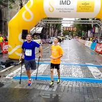 10km con una sola pierna, un corredor que consigue inspirarnos