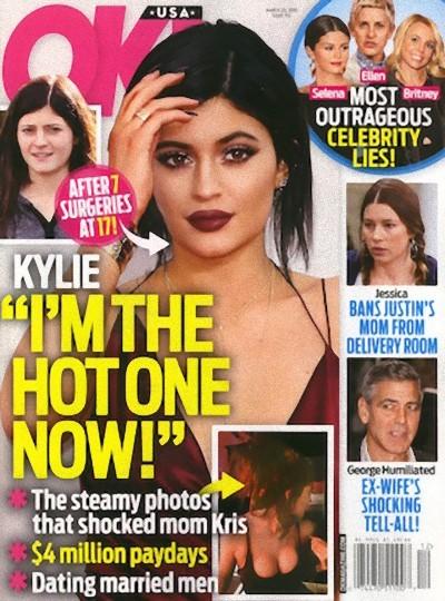 Kylie Jenner se nos desata