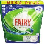 Ahorra en tu lavavajillas con Amazon: cápsulas de lavavajillas Fairy All in One 100 uds por 15,99 euros