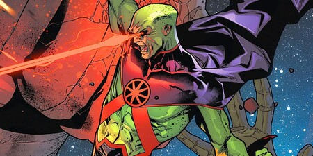 Martian Manhunter Justice League Header