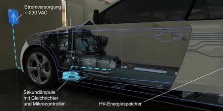 BMW está convencida de la recarga por inducción