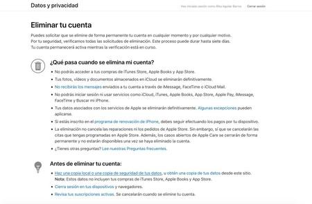 Eliminar Cuenta Icloud Consecuencias
