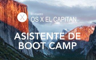 OS X El Capitan: Asistente de Boot Camp