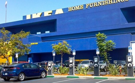 IKEA instalará puntos de recarga rápida en todos sus centros del Reino Unido