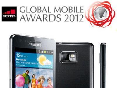 Galaxy SII gana el premio a smartphone del año en el MWC