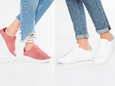 Zapatillas Vero moda blancas o rosas ahora rebajadas por 23,95 euros y envío gratis