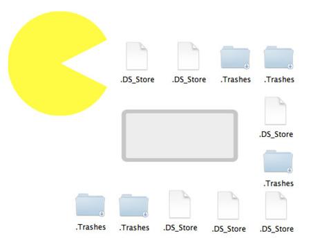 Recopilación de aplicaciones anti DS_Store