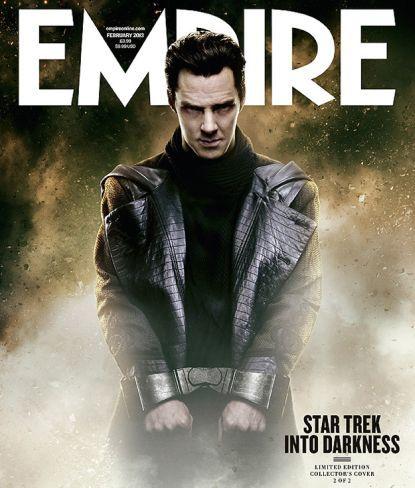 Benedict Cumberbatch, villano de Star Trek En La Oscuridad, en la portada de la revista Empire