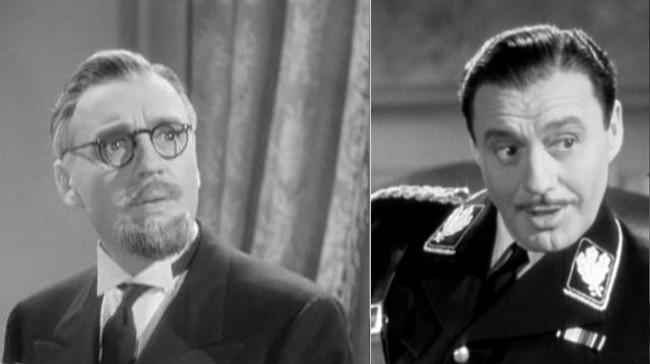 Los disfraces de Jack Benny en 'Ser o no ser'