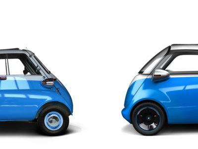 """El Isetta eléctrico que llevaría Steve Urkel en un supuesto remake de """"Cosas de casa"""""""