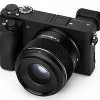 Yongnuo 50mm F1.8S DA DSM APS-C: El objetivo de entrada chino llega ahora en versión para monturas E de Sony