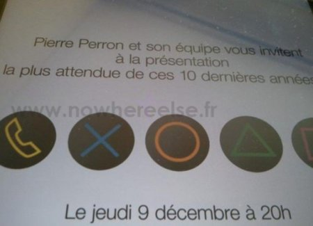 ¿Playstation Phone el 9 de diciembre?