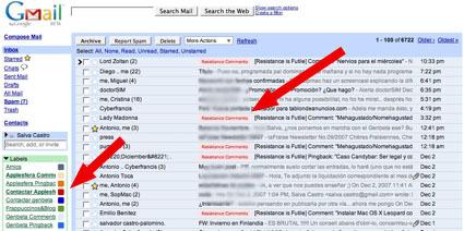 Habilitan el coloreado de etiquetas en Gmail
