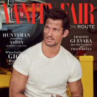 David Gandy inaugura la nueva revista Vanity Fair UK On Route