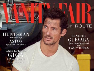 David Gandy inaugura la nueva revista Vanity Fair UK On Route