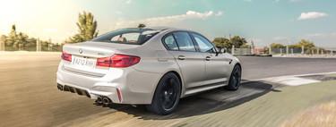 Probamos el espectacular BMW M5, un maquinón de 600 CV efectivo y divertido a partes iguales
