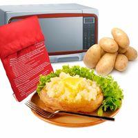 Bolsa para cocinar patatas en el microondas rápidamente por 1,71 euros en Aliexpress y gastos de envío gratis