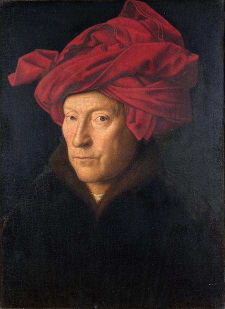 Portrait Of A Man By Jan Van Eyck Small