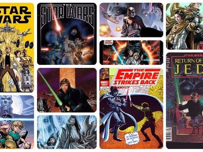 Cómics desde una galaxia muy, muy lejana: las mejores historias de 'Star Wars' en viñetas