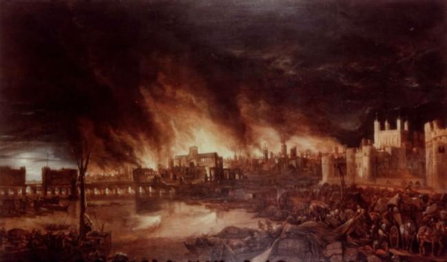 Londres volverá a arder en el 350 aniversario del 'Gran Incendio'