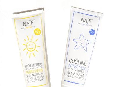 Cuidando la piel del bebé: probamos la protección solar infantil de Naïf