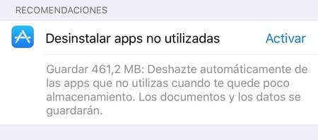Apps No Utilizadas
