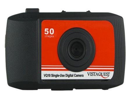VistaQuest VQ10 es una cámara digital y desechable