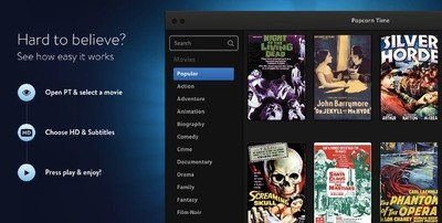 Popcorn Time sumara AirPlay al soporte de Chromecast para ser más interesante de cara al usuario