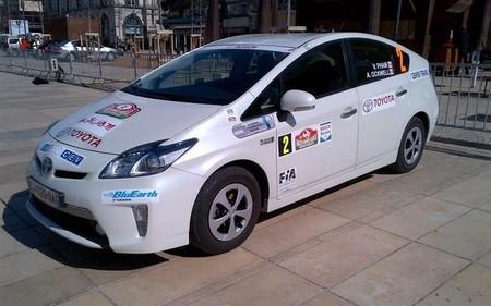 Un Toyota Prius enchufable es el híbrido más eficiente en el Rally de Monte-Carlo Energies Nouvelles