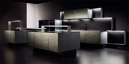 P'7340: Cocina de Poggenpohl y Porsche Design