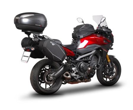 Yamaha MT-09 Tracer preparada para el verano con SHAD