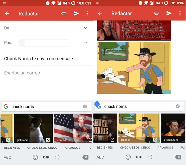 Gmail Chuck Norris