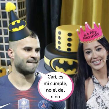 El pastizal que se ha gastado Aurah Ruiz en la fiesta sorpresa por el cumpleaños de Jesé Rodríguez