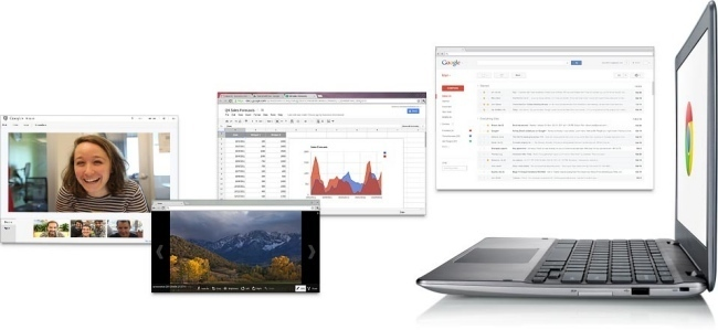 Samsung Series 5 Chromebook con Chrome OS
