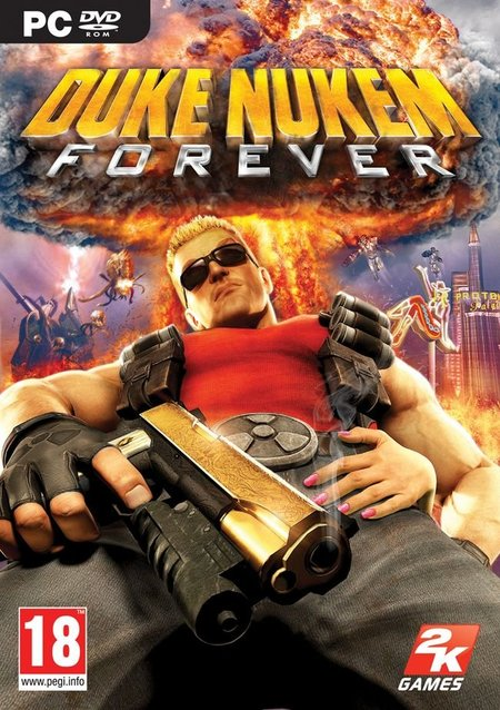 Duke Nukem Forever - Portada PC