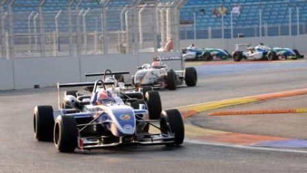 Un podium inédito en la Fórmula 3 española