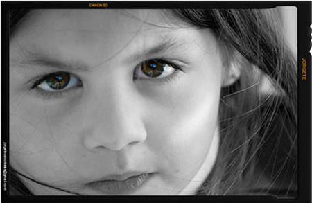 La foto de tu bebé: la mirada de Andrea