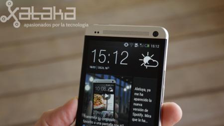 HTC one análisis altavoces