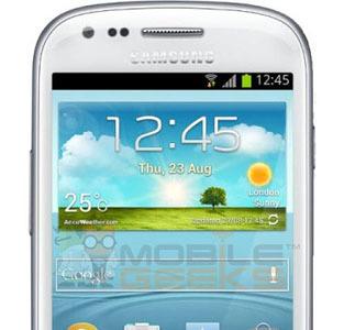 Samsung Galaxy SIII Mini, se filtran sus especificaciones y foto antes de su presentación