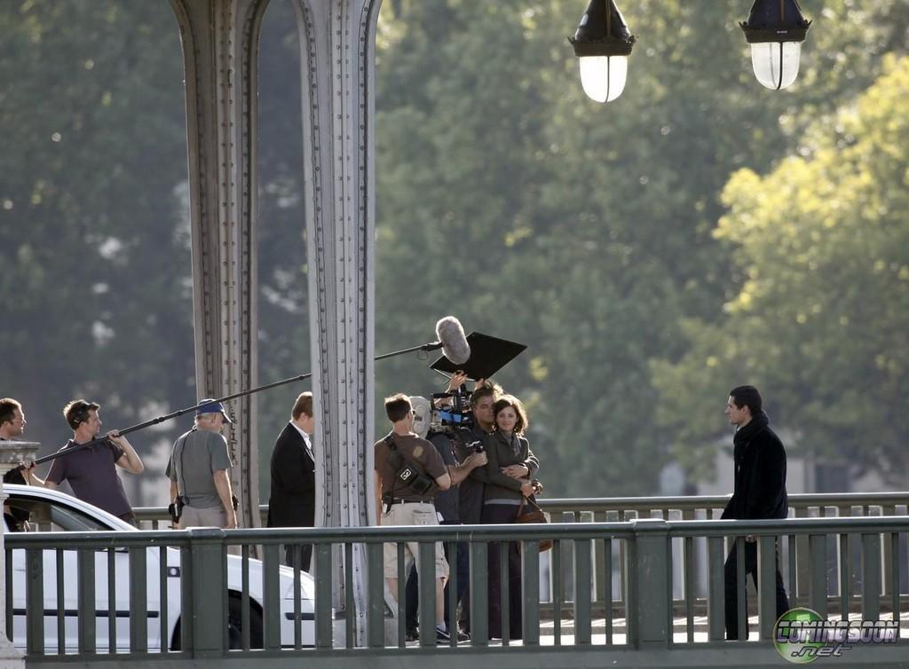 Foto de 'Inception', imágenes del rodaje (1/14)