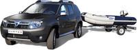 Dacia Duster Pack Marine, con la lancha a cuestas
