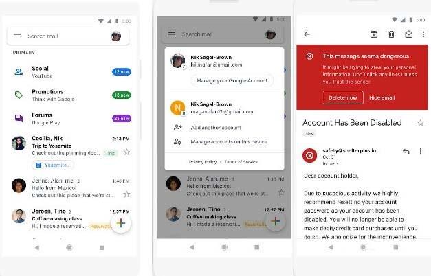32826e44956cd La app de Gmail estrena diseño y se vuelve más blanca que nunca