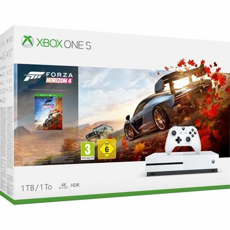 Consola Xbox One S 1TB, con el juego Forza Horizon 4, en oferta en Fnac por 199,99 euros y pago a plazos sin intereses