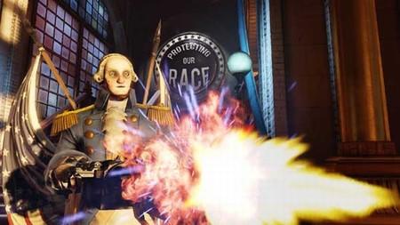'BioShock Infinite' y The Motorized Patriot, ya podemos ver en movimiento a la versión Terminator de George Washington
